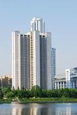 Bâtiment gouvernemental à ekaterinbourg, russie — Photo