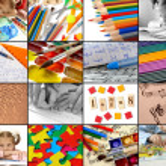 Colección educativa — Foto de Stock