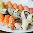 Plate of sushi - Stock Photo