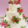 Stock Photo: Beautiful cake