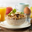 Healthy breakfast — Stockfoto #7504775