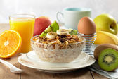 Healthy breakfast — Stock fotografie