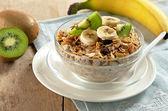 Pequeno-almoço saudável — Foto Stock