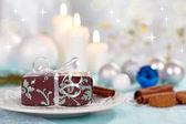 Presente de natal — Fotografia Stock