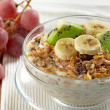 Stock Photo: Muesli with fresh fruits