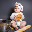 Little cook - Stock Photo