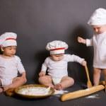 小小厨师 — 图库照片