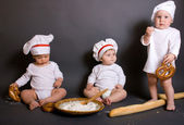Little Chefs — Stock Photo