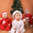 Royalty-Free Stock Photo: Christmas Babies