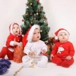 Christmas Babies — Stock Photo