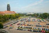 Parken im zentrum — Stockfoto