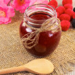 Stock Photo: Jam-jar