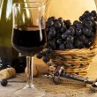 Wine still life — Stock Photo