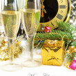 Beautiful Christmas still life — Stock Photo