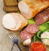 Et ürünleri — Stok fotoğraf
