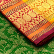 Indian saris - Stock Photo