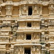 Gopuram (tower) of Hindu temple - Foto de Stock  