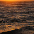 Ocean sunset - Stock Photo