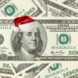 Stock Photo: Dollar Santa