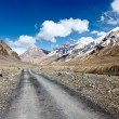 Road in Himalayas - Stock Photo