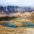 Stock Photo: Mountain lakes in Himalayas
