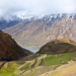 Fields in Spiti Valley — Stock Photo