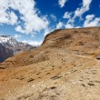 Road in Himalayas - Stockfoto