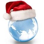Christmas planet concept — Stock Photo