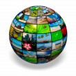 Picture globe — Stock Photo #7341543