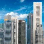 Singapore skyscrapers — Stock Photo #7341554