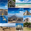 Collage of Mexico images — Stock Photo