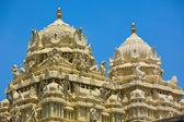 Gopuram (tower) of Hindu temple — Stok fotoğraf