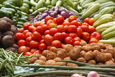 Vegetable market. India — Stock Photo