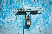 Latch on the door — Stock Photo