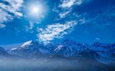 Remote mountains — Stock Photo