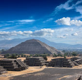 Teotihuacan Pyramids — Stock Photo