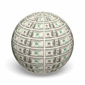 Фона строк американских долларов — Стоковое фото