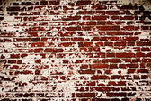 Old brick wall with remains of plaster — Stock Photo