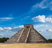 Mayan pyramid in Chichen-Itza, Mexico — Foto Stock