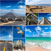 Mexico images collage — Stock Photo