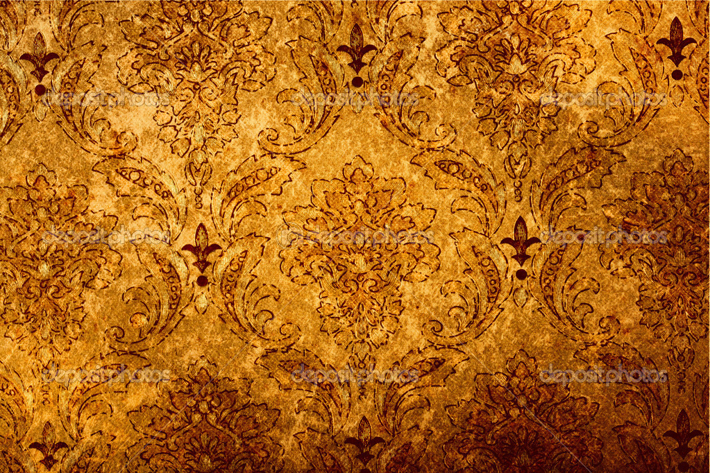 Abstract vintage wallpaper background  Stock Photo #7341655