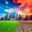 Global warming — Stockfoto