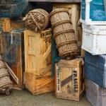Vintage luggage — Stock Photo