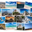 Mexico images collage - Stock Photo