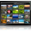 Tablet PC - Foto Stock