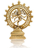 Statue of Shiva Nataraja - Lord of Dance isolated — Stock Photo