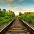 Railroad track — Stock Photo #6801466