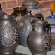 Pottery market — Stock Photo