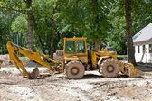 Excavators. — Stock Photo