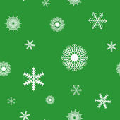 Snowflake seamless — Vector de stock